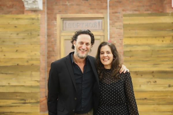Yehezkel Lararov and Maite Uzal Photo