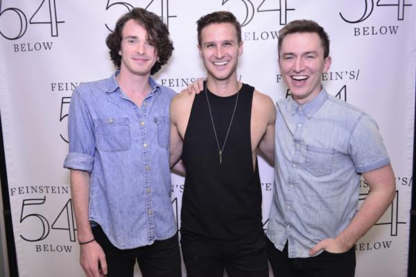 Peter LaPrade, Christopher Rice and Josh Daniel