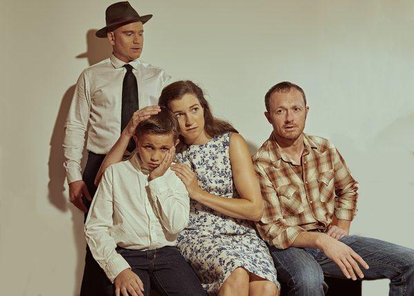 Drew Allen, Henry Fin Berry, Phoebe Dunn, Brendan Walsh Photo