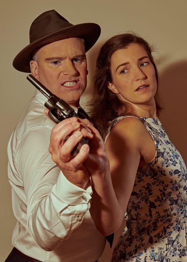 Phoebe Dunn and Drew Allen