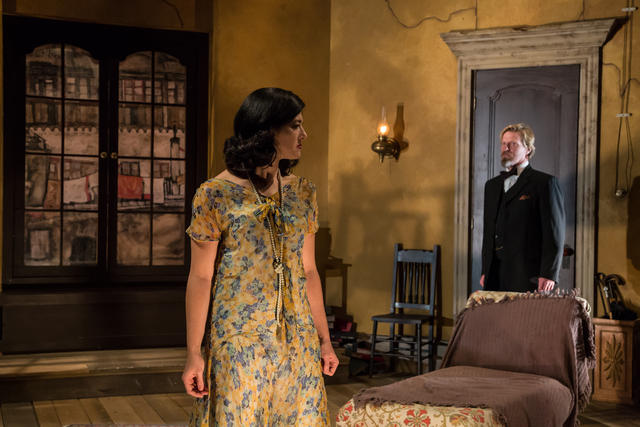 BWW Review: NAKED at Berkshire Theatre Group closes the 90th season with twists, turns, and complexity.