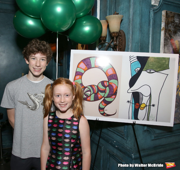 Finn Faulconer and Charlotte Wise Photo