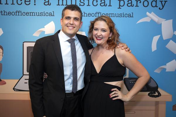 Composer Assaf Gleizner and Music Director Tegan Miller Photo