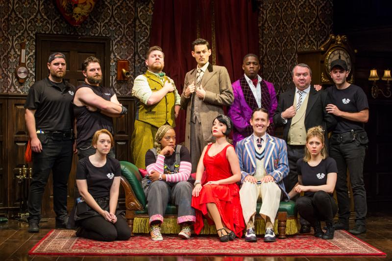 Everything's Going Right for THE PLAY THAT GOES WRONG's Evan Alexander Smith
