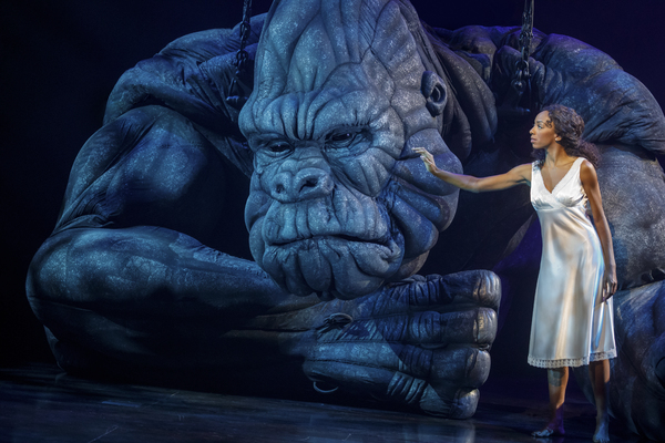 Photo Flash: KING KONG Arrives on Broadway Tonight- First Look!