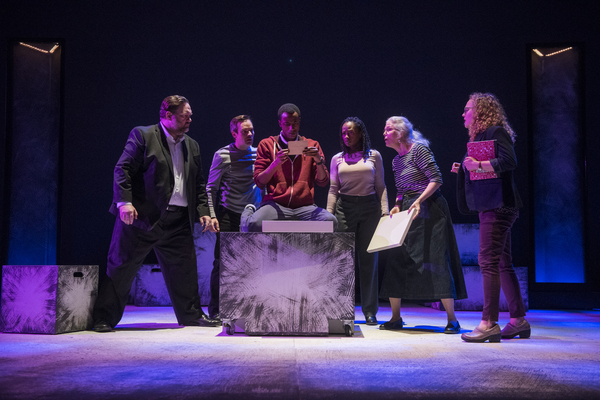 Photo Flash: First Look at Steppenwolf's THE CURIOUS INCIDENT OF THE DOG IN THE NIGHT-TIME