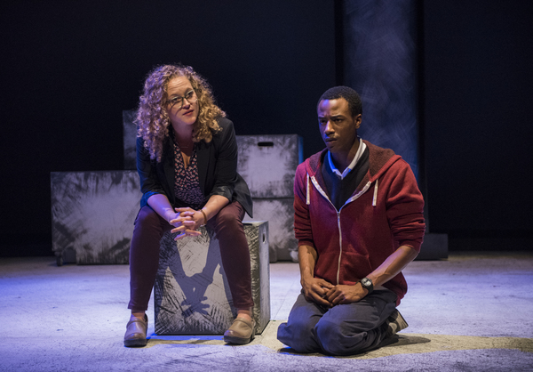 Caroline Neff (Siobhan) and Terry Bell (Christopher)