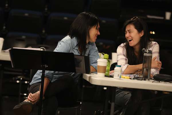 Director Leigh Silverman and playwright Hansol Jung. Photo Credit: Joan Marcus