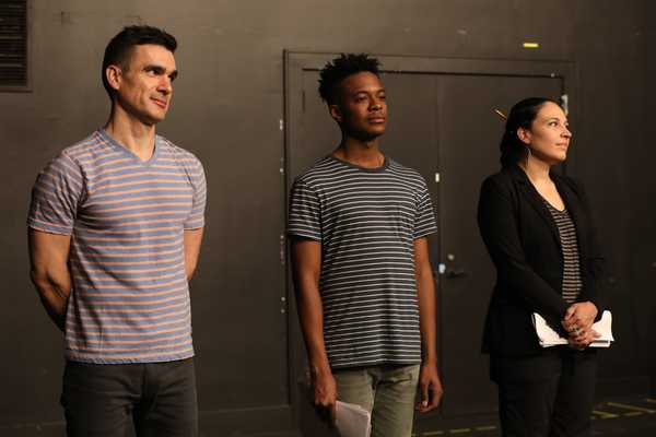 Dan Domingues,Jamar Williams, andKatrina Yaukey.Photo Credit:Joan Marcus