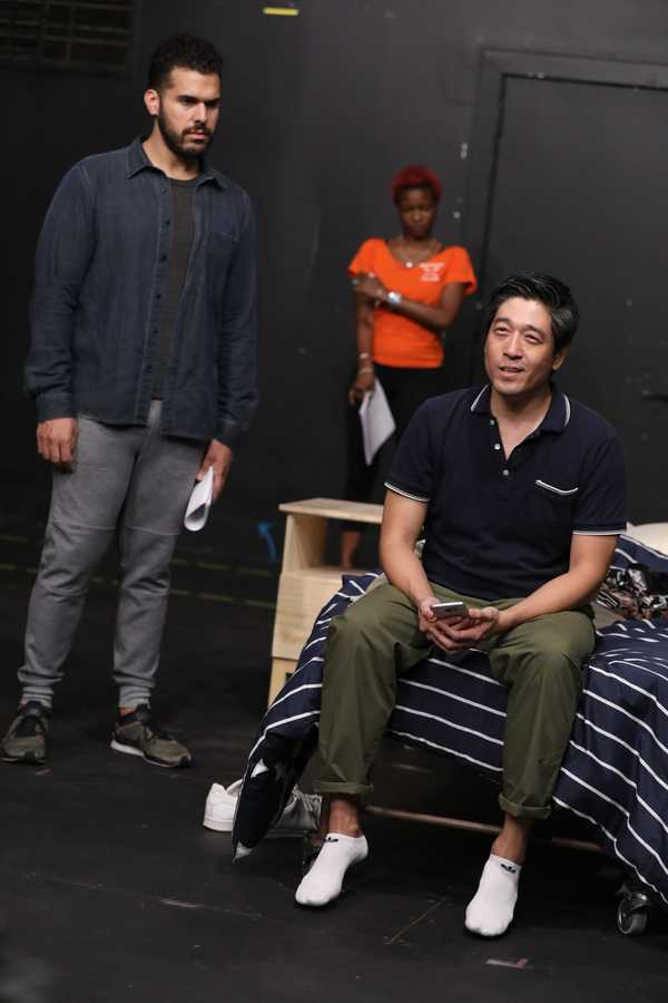 Photo Flash: In Rehearsal with The Public's WILD GOOSE DREAMS