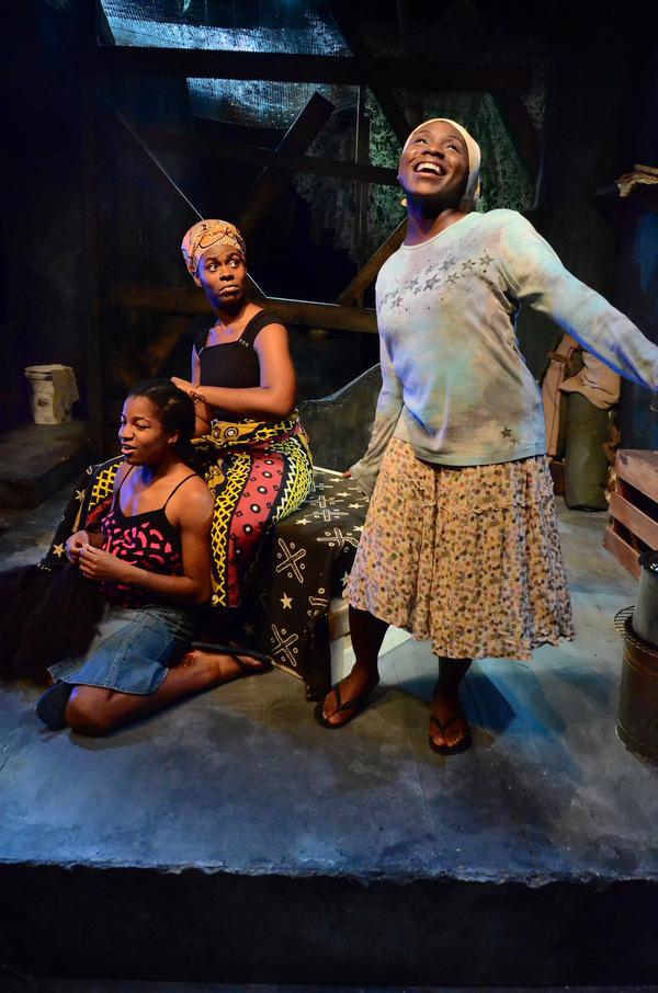 Aja Singletary, Maya V. Prentiss and Sola Thompson Photo