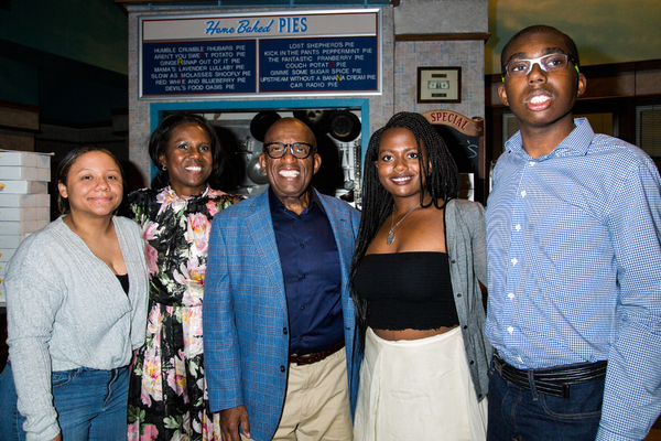 Deborah Roberts, Al Roker and family