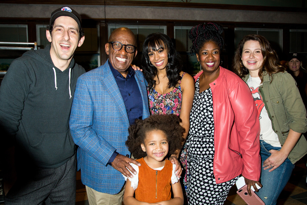 Adam Shapiro, Al Roker, London Skye Gilliam, Nicolette Robinson, NaTasha Yvette Williams, Katie Lowes