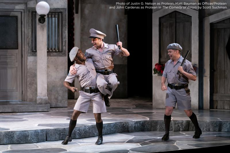 BWW Review: THE COMEDY OF ERRORS Makes Up for Some Errors with Great Comedy