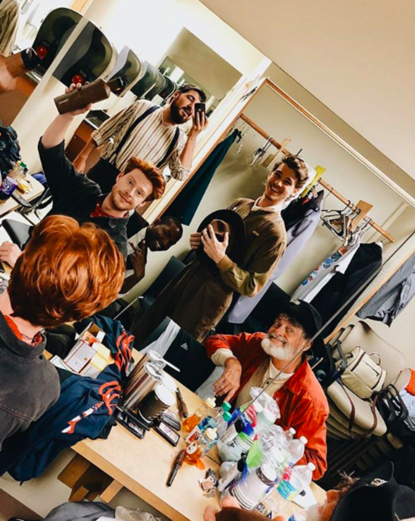 Photo Flash: The Cast of ANASTASIA Gets Spooky, and More Saturday Intermission Pics!
