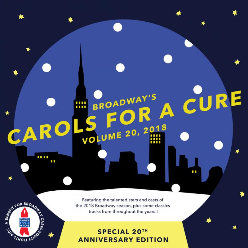 Exclusive Photo Coverage: ANASTASIA's Christy Altomare & Zach Adkins Are Feeling Just Like Christmas for Carols For A Cure!