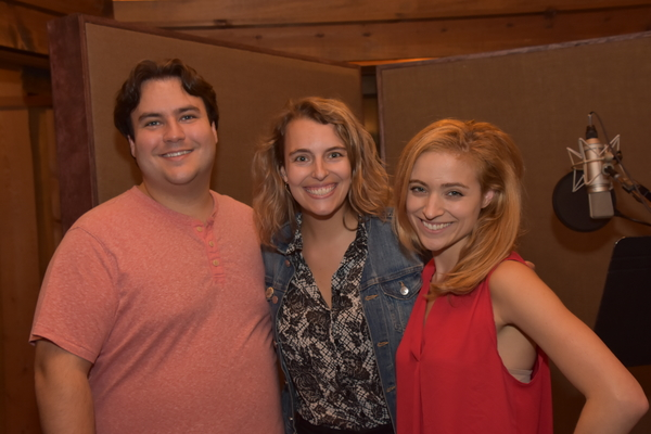 Caleb Hoyer (Musical Director), Danielle Gimbal and Christy Altomare