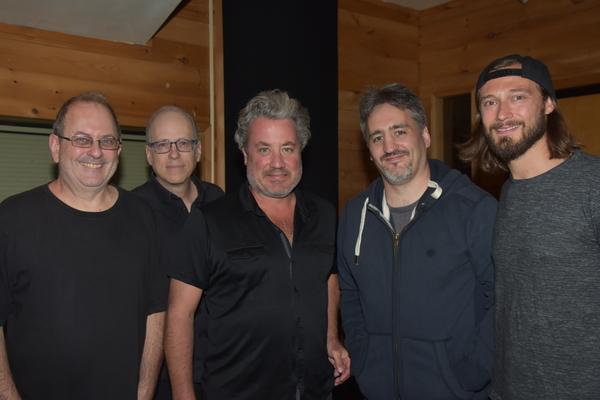 Al Orlo (Guitar), Paul Adamy (Bass), Robert Morris (Guitar), Jason Loffredo (Music Director) and Mason Ingram (Drums)