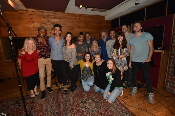 The Spirit Of Christmas Cast.Exclusive Photo Coverage Kinky Boots Cast Gets In The