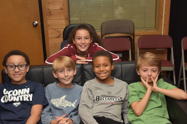 Natalie Jacobs joins with Christian Mullins, Cooper Lantz, Eric Walker, Jr. and Connor Mills