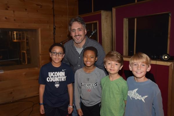 Jason Loffredo joins Christian Mullins, Eric Walker, Jr., Connor Mills and Cooper Lan Photo