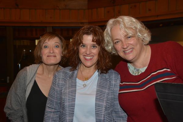 Petrina Bromley, Sharon Wheatley and Astrid Van Wieren