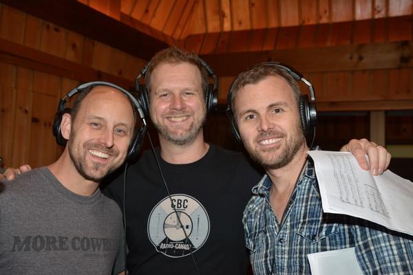 Geno Carr, David Hein and Tony LePage