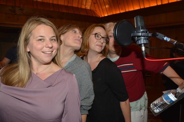 Irene Sankoff, Petrina Bromley, Happy McPartlin and Astrid Van Wieren
