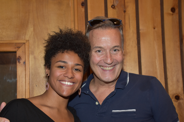 Exclusive Photo Coverage: Ariana DeBose and the Cast of SUMMER Disco Into the Holidays for Carols For A Cure!