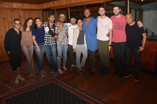 Andres Foreo (Arranger), Mike Moise (Musical Director), Robin Macatangay (Guitar) join with the cast- Lexi Lawson, Lauren Boyd, Anthony Lee Medina, Terrance Spencer, Roddy Kennedy, Gabriella Sorrentino, Sean Green Jr. and Ryan Vasquez