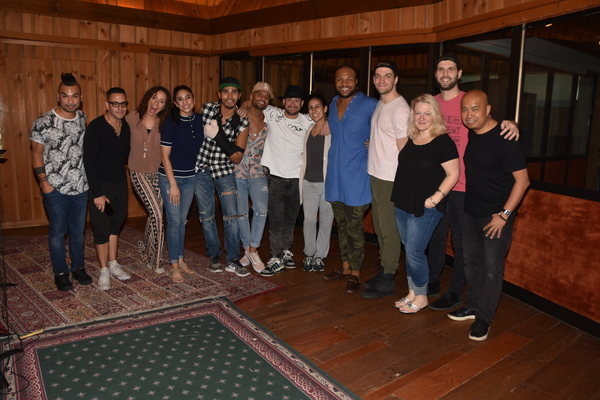 Exclusive Photo Coverage: HAMILTON Cast Jingles All the Way to Christmas for Carols For A Cure!