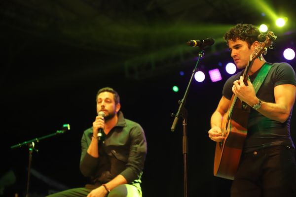Zachary Levi and Darren Criss