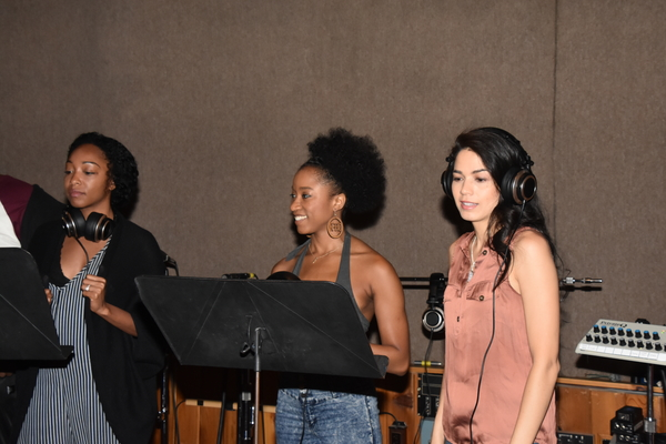 Tiffany Evariste, April Holloway and Arielle Jacobs