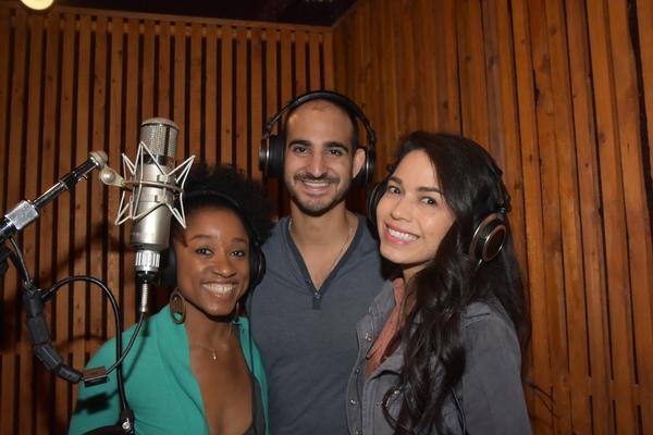 April Holloway, Nathan Lucrezio and Arielle Jacobs
