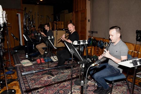 Greg Riley (Bassoon), Mike Livingston (Oboe), Dustyn Richardson (Flute) and Tom Kmiecik (Clarinet)