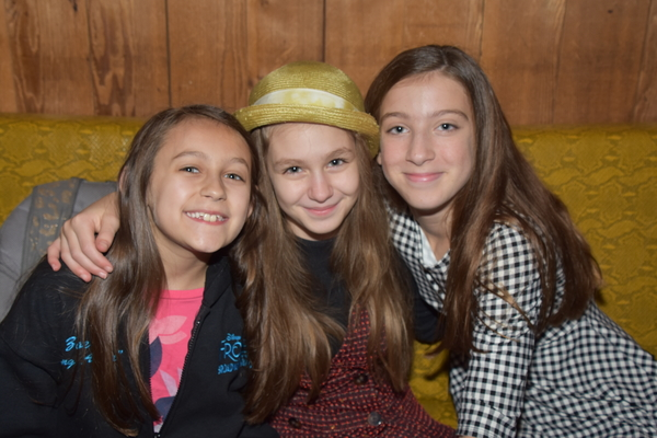Zoe Glick, Mimi Ryder and Ayla Schwartz