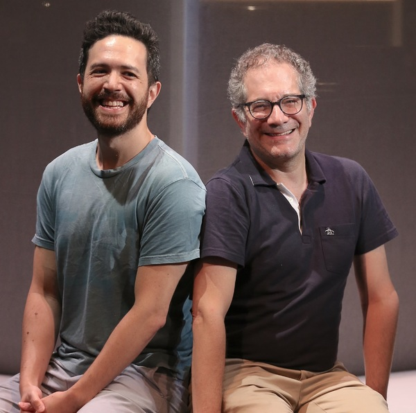 Playwright Adam Gwon and Keen Artistic Director  (and Ordinary Days director) Jonathan Silverstein