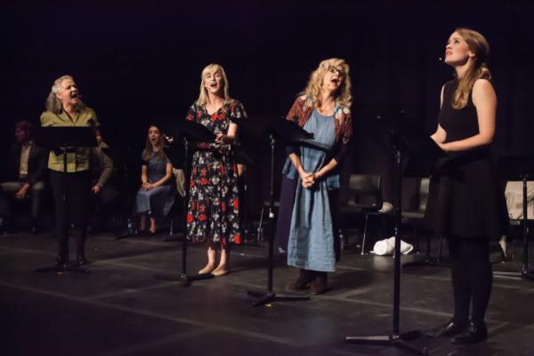 Charlotte Moore, Laura Larson, Judy Marshak, Ellen Denny.