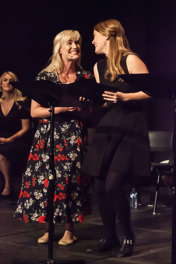 Laura Larson, Ellen Denny. Geordie Brown & Belinda Hart's Could I Have This Dance? 20 Photo