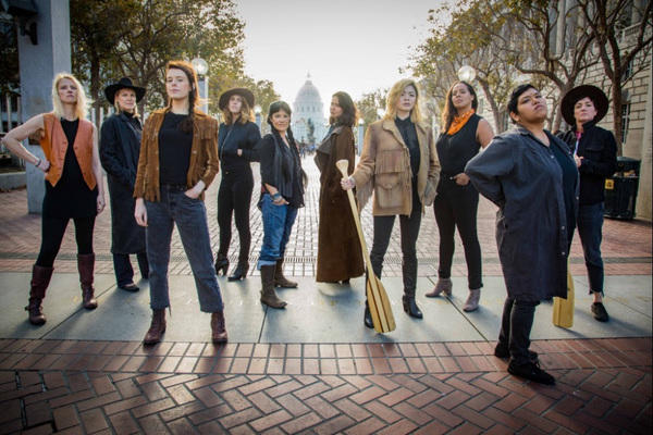 The cast of American Conservatory Theater's upcoming production of Jaclyn Backhaus's Men on Boats