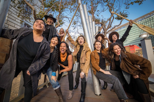 Photo Flash: First Look at the Cast of American Conservatory Theatre's MEN ON BOATS