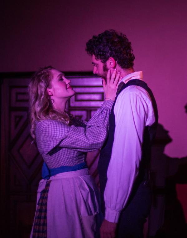Daniel Dorr and Hope Lauren in The Chimes