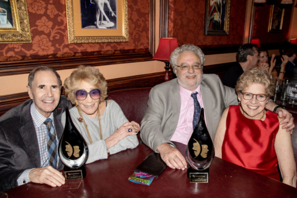 Freddie Gershon, Myrna Gershon, Harvey Zirofsky, and Dr. Sharon Dunn