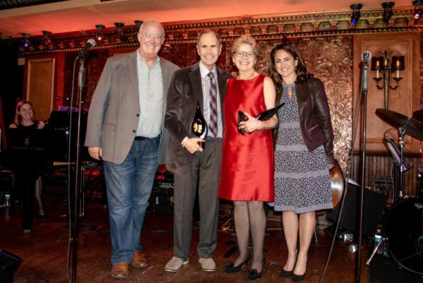Matt Conover, Freddie Gershon, Dr. Sharon Dunn, Julie Cohen Theobald