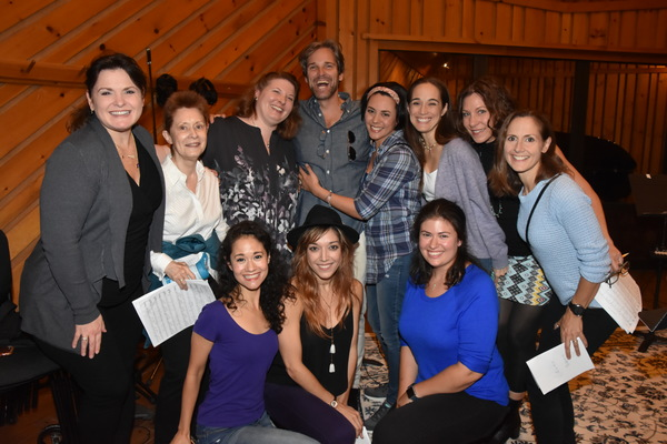 Exclusive Photo Coverage: All Is Calm as THE PHANTOM OF THE OPERA Cast Records for Carols for a Cure!