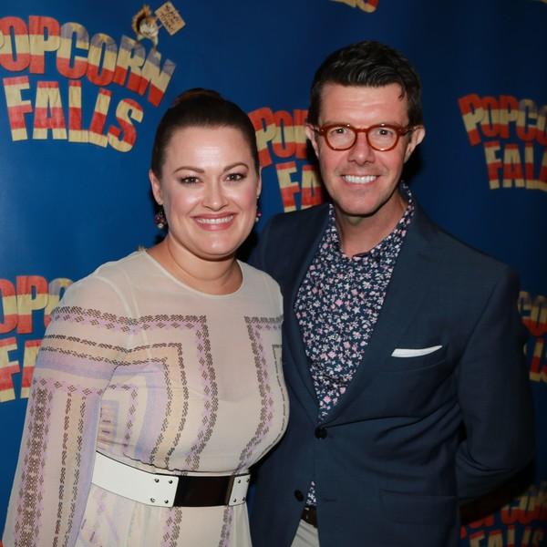 Photo Coverage: Christian Borle & Company Celebrate Opening Night of POPCORN FALLS