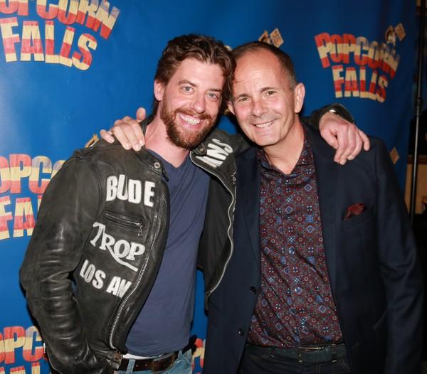 Christian Borle and James Hindman Photo