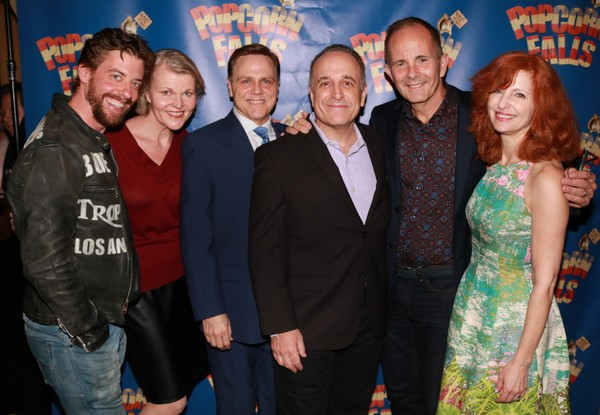 Christian Borle, Joanna Allen Lodin, Tom Souhrada, Adam Heller, James Hindman and Lynne Halliday