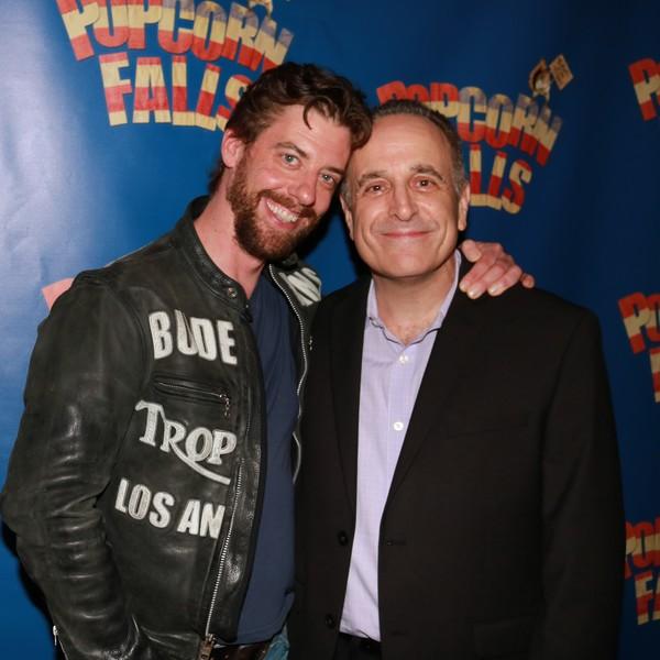 Christian Borle and Adam Heller