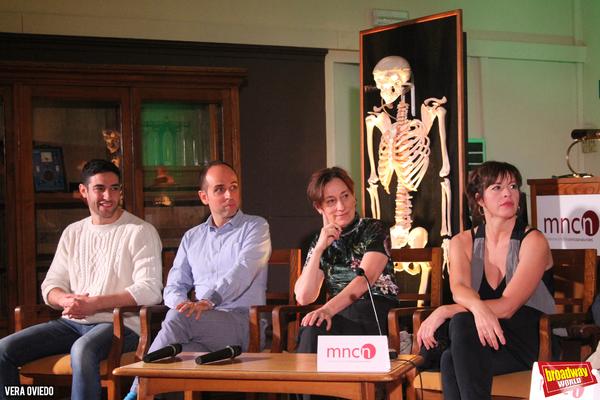 Gerard Minguez, Jordi Vidal, Teresa Vallicrosa y Marta Ribera